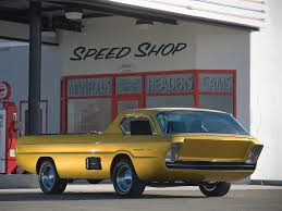 Dodge Pickup Deora (1965) – Old Concept Cars 1967 Dodge Pickup ...