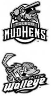 Toledo Mud Hens And Walleye
