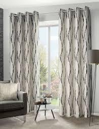 ösenschal ebby grau meliert 135 245 cm gardine vorhang