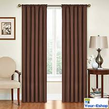 eclipse blackout curtains thermal curtain single panel 42 x 63 84