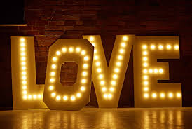 Love Letters Marquee Letter Lights Style Arch