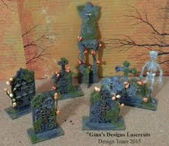 Spooky Halloween Tombstone Names by Gypsy Soul Laser Cuts Tombstone Stand Ups For Halloween And A