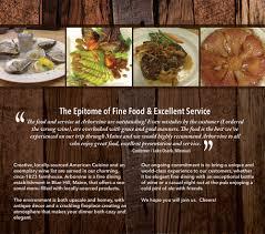 cuisine t arborvine restaurant