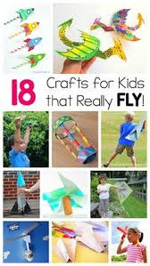 18 Crafts For Kids That Can Really Fly Including Paper Airplanes Pinwheels Helicopters Kites And More Fun Who Love STEM Design