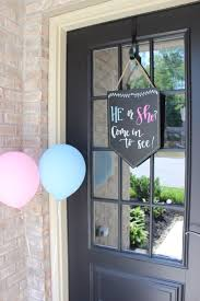 Baptism Decoration Ideas For Twins by Best 25 Gender Reveal For Twins Ideas Ideas On Pinterest Baby