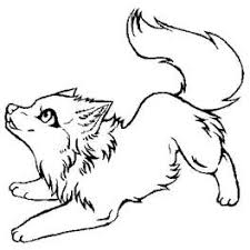 Pin Arctic Wolf Clipart Black And White 7