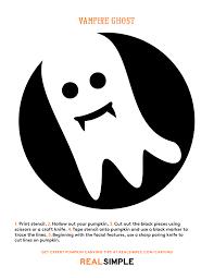 Vampire Pumpkin Pattern by The Best Ghost Pumpkin Designs Real Simple