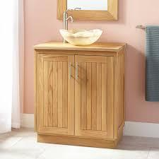 Narrow Depth Bathroom Vanities by Bathroom Dark Brown Narrow Depth Bathroom Vanity With Shutter