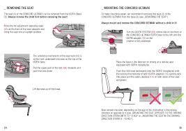 siege auto concord ultimax isofix manual de instruções ultimax 3 da concord