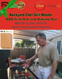 Backyard Chef Grill Master Copper BBQ Grill Mat / Baking Mat ... My Baby Klose Backyard Chef Jr Bbq Watch Video Entpreneur Endeavors Johnstown Chef Seeks 1960s Smiling Man Outdoors In Backyard Patio Wearing Chef Hat Barbecue With The Bearded Youtube Must Haves For The Thebabyspotca Movie Theater Screens Refuge Amazoncom Bake And Grill Master Mat Baking Copper Ideas Collection Gas Bbq Stainless Lid Be E Best Your Hero Steak
