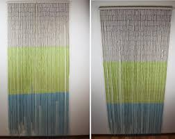 Bamboo Bead Curtains For Doorways by Bamboo Beaded Curtain Etsy