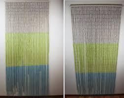 bamboo beaded curtain etsy