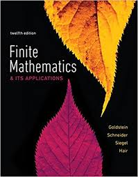 Finite Mathematics Its Applications Plus MyLab Math With Pearson EText Title Specific Access Card Package 12th Edition