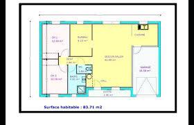 maison plain pied 2 chambres plan maison une chambre maison plain pied 2 chambres bureau plan