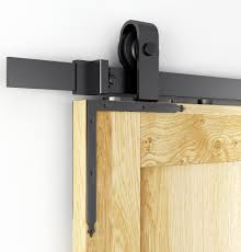DIYHD 7 5/8'' Barn Door Slab L Bracket Sliding Barn Door ... Barn Door Track Trk100 Rocky Mountain Hdware Contemporary Sliding John Robinson House Bring Some Country Spirit To Your Home With Interior Doors 2018 6810ft Rustic Black Modern Buy Online From The Original Company Best 25 Barn Door Hdware Ideas On Pinterest Diy Large Hinges For A Collections Post Beam Raising Ct The Round Back To System Bathrooms Design Bathroom Ideas Diy Rolling Classic Kit 6ft Rejuvenation