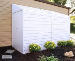 Metal Storage Shed Doors by Arrow Yardsaver 4 Ft 1 In W X 9 Ft 8 In D Metal Lean To