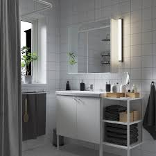 enhet tvällen badezimmer set 14 tlg weiß pilkån mischbatterie 122x43x87 cm