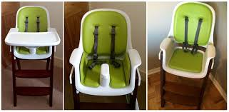 oxo high chair oxo tot sprout high chair green walnut new free