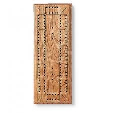 Completed Original Cribbage Board Made Using JIG ITR Game Drilling System For