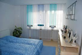 schlafzimmer gardinen deko