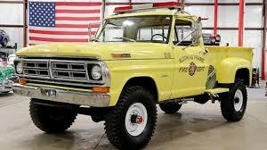 100 Brush Trucks 1972 Ford F250 Truck Ready To Fight Fires Fordtrucks
