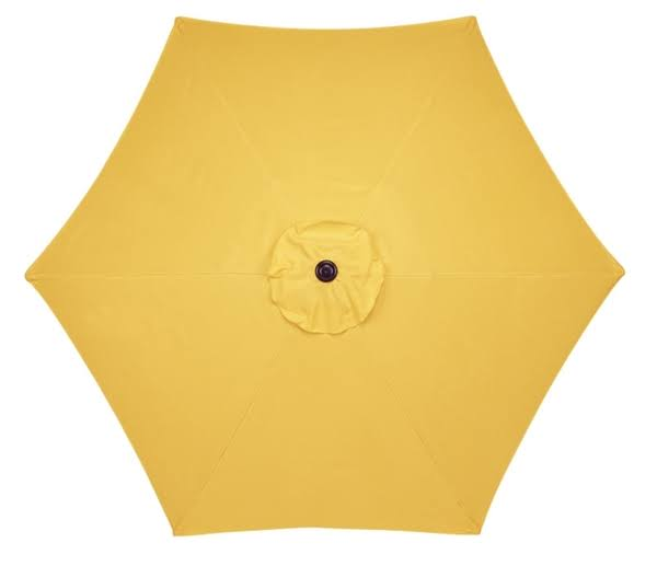Living Accents Market Umbrella - Yellow