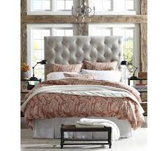 Seagrass Headboard Pottery Barn by Creative Of Pottery Barn Headboard Lorraine Tufted Bed Headboard
