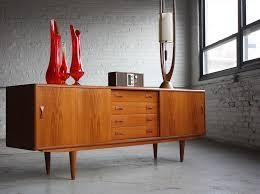 Mid Century Modern Display Cabinet Wooden
