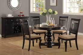 Formal ELegant Dark Brown Color Dining Table Chair Set #F2342