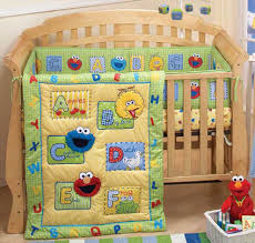 sesame street a is for apples 3 pc baby crib bedding set baby