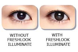 Halloween Contacts Cheap No Prescription by Freshlook Illuminate Jet Black Contact Lenses Optyk Rozmus