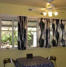 Ideas For Kitchen Curtains Small Dining Table Set Black Ceramic Countertops Bridge Faucet White Porcelain Single Bowl Sink