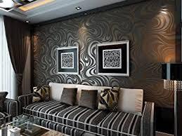 ketian moderne 3d abstrakte kurve tapete vlies beflockungsstreifen für wohnzimmer schlafzimmer tapetenrolle 0 7 m 2 29 w x 8 4 m 27 56 l 5 88