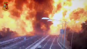 100 Propane Truck Explosion Two Dead In Massive Gas Truck Explosion In Italy