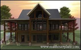 The Waterfront House Designs by Craftsman Lake Cottage Custom Home Plans Max Fulbright Designs