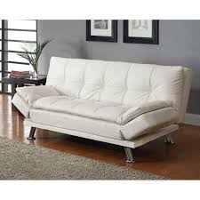 dilleston contemporary sofa bed white walmart com