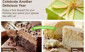 Free Dessert at Olive Garden Simple Coupon Deals