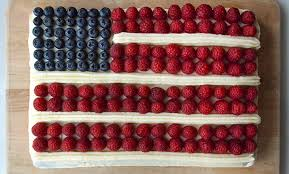 How to Decorate a July 4th Flag Cake Fourth of July