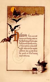 Poems About Halloween For Adults by Vintage Halloween Postcard Halloween Ideas Pinterest Vintage