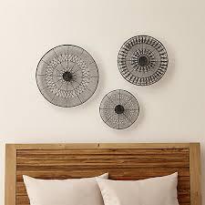 Wall Art Sets 3 Piece Intricate Circle Metal Set
