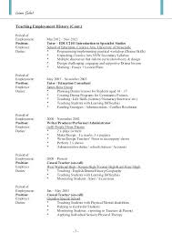 Teacher Resume Examples Nsw Feat Resumes And Duties 3 Teaching