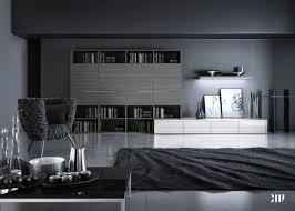 farbideen fürs wohnzimmer wände grau streichen black and