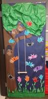 Thanksgiving Classroom Door Decorations Pinterest by Swing Into Spring Classroom Door Decoration Little Learners