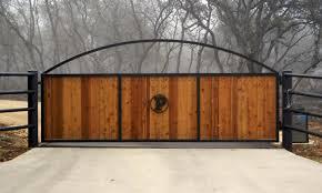 Poutra Enterprises Inc San Antonio TexasAutomatic Swing Slide Ranch Gates