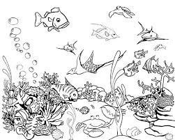 Coloring Pictures Of Fish Bowls Free Pages Best Printable