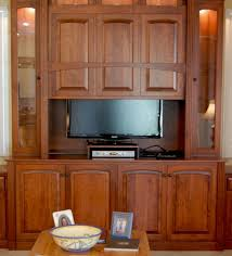 Hidden TV Display Cabinet