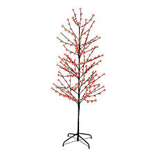 Northlight 3 Ft Pre Lit Twig Slim Artificial Christmas Tree With 280 Constant Red