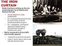 Churchills Iron Curtain Speech by Lesson 2c U2013 Origins Of The Cold War Essential Question How Did The