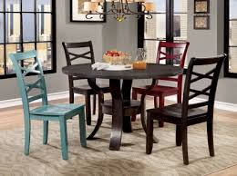 Furniture Of America Giselle Espresso Round Dining Room Set