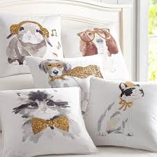 Pottery Barn Decorative Pillow Inserts by Aspca Party Animals Pillow Covers Pbteen